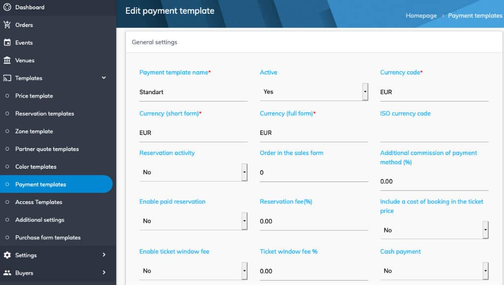 event ticketing software